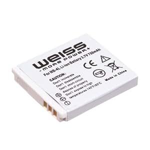 Weiss - NB-4L - Batterie Li-Ion pour Canon - 750 mAh