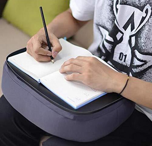 CTO Wandhalterung Home Bambus Lap Schreibtischkissen Gepolstert Laptop-Zubehör Buchständer Ideal Für Bett Couch Tisch Sofa Stuhl Drop-Leaf-Tabelle,C,Schreibtisch -
