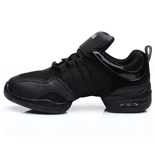 SWDZM mujeres zapatos de baile moderno hip-hop zapatos de jazz deportivo  zapatillas f4b052e9a4e