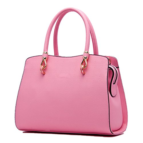 La Signora OL Borsa In Pelle PU Pink