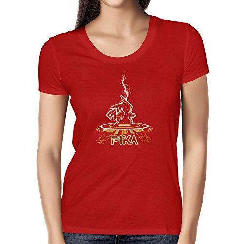 TEXLAB - Pikatron - Damen T-Shirt Rot