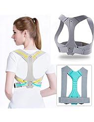 JTENG Geradehalter zur Haltungskorrektur Rückenstütze Schulter Rückenstütze,Rücken Geradehalter Corrector Posture Haltungstrainer für Damen und Herren