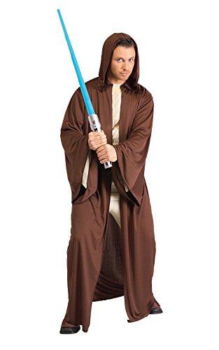 Imagen de disfraz rubie's de la guerra de las galaxias para hombre, túnica jedi estilo 1, estándar, talla 44