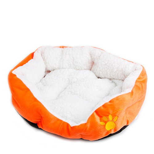 the-cheers-pet-dog-cat-bed-puppy-cushion-house-pet-soft-warm-kennel-dog-mat-blanket-orange