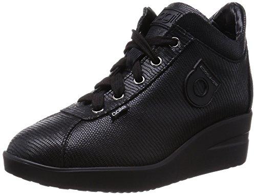 Agile By Rucoline 226 A Sneakers Donna Pelle Sintetico Nero Nero 35