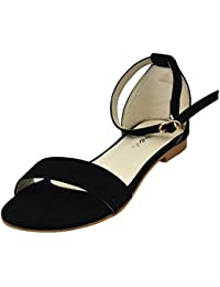 Raien Fashion and Comfort Flat Sandal for Women and Girls