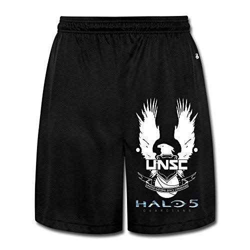 Bode Herren Hose Halo 5 XL Schwarz - Mädchen Lacrosse Shorts