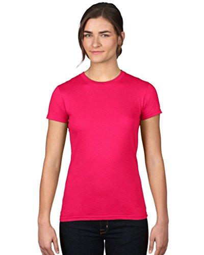 T-Shirt mit angeschnittenen Ärmeln Heather Purple
