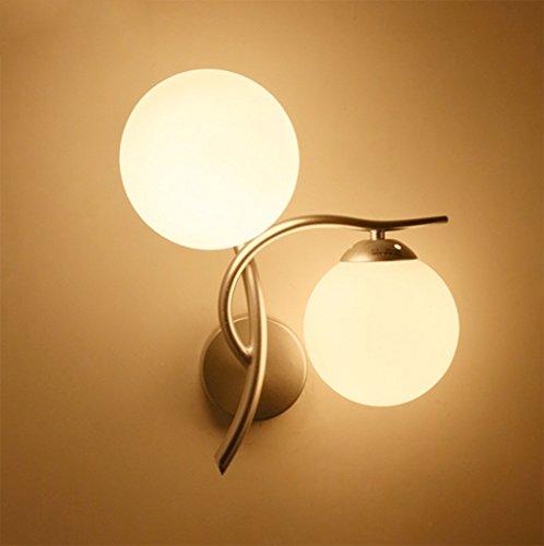 Applique Lampe de chevet moderne Minimaliste Creative Chambre Applique Salon Balcon Aisle Escalier Applique double tête