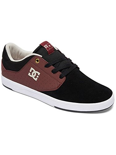 Dc Shoes Plaza Tc S M Shoe Bgm, Man Black/oxblood