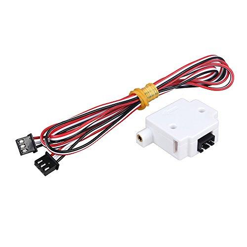 TKSTAR 3D Filament Erkennungsmodul Filament Rundlauf. Pause erkennen Monitor Sensor für 3D Drucker lerdge Board 1,75mm PLA ABS Filament