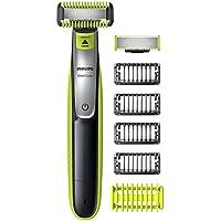 Philips ONEBlade afeitadora para cara/cuerpo con protección zonas sensibles/zapata Clipsable
