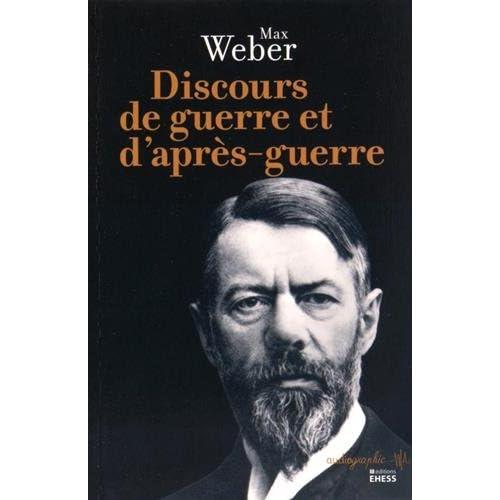 Discours de guerre et d'après-guerre