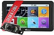 Elebest City 70K Navigationsgerät PKW, LKW, Wohmobil - Großes 7 Zoll (17,8 cm) Touchscreen HD Display - 24 GB,