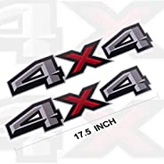 4x4 Decals Stickers for 2017 Ford F150 Bed Side (2PCS)
