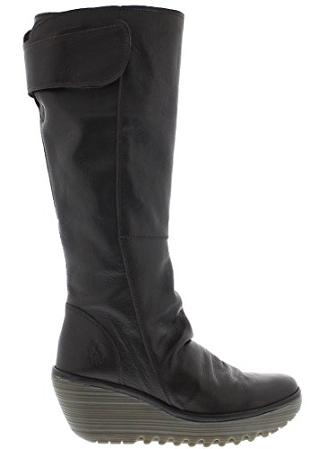 Fly London Yulo688Fly Ladies Boot dunkelbraun