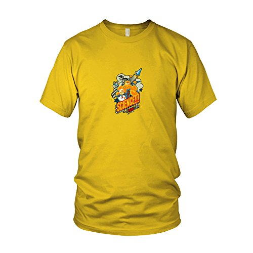Science Knows Stuff - Herren T-Shirt, Größe: XXL, Farbe: ()