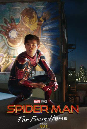 Spider-Man : FAR from Home - U.S Movie Wall Poster Print - 30cm x 43cm / 12 Inches x 17 Inches -