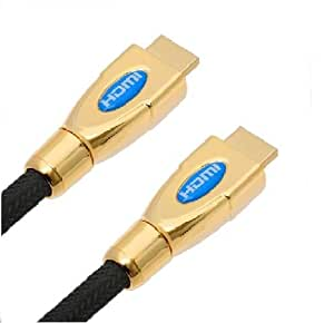 10m Gold OFC HD HDMI Cable Lead 10 Metre 1080p v1.4b