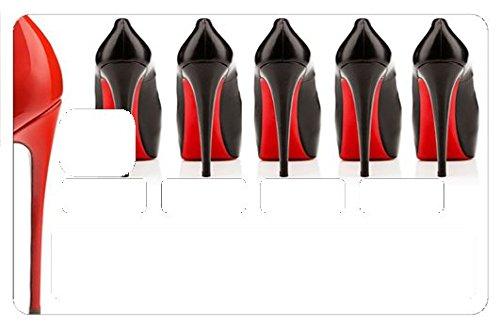 Stickers CB, decoratif, pour carte bancaire, Talon aiguille - autocollant de haute qualité, création & fabrication Française