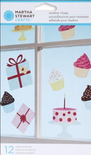 Wilton Marken Inc Martha Stewart Modern Festive Fenster klammert sich an (Fenster Klammert Für Kinder)