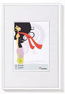 walther design KV030W New Lifestyle picture frame, 8 x 11.75 inch (20 x 30 cm), white