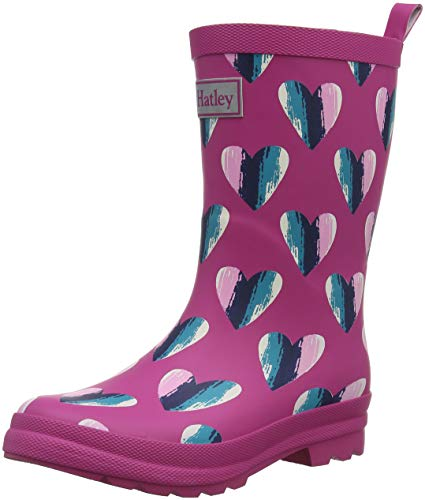 Hatley Girls' Rain Wellington Boots