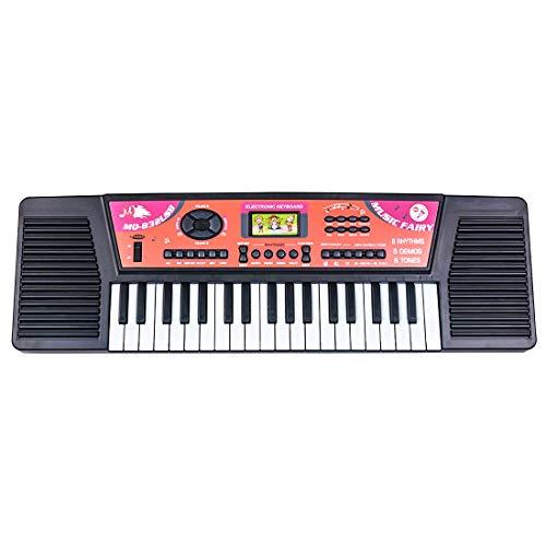 Riav776Yale Klavier für Kinder,Kinder Musik Spielzeug,37-Tasten Mini Electronic Keyboard USB-Aufladung und Akku Elektronisches
