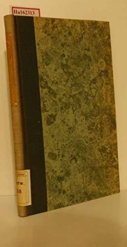 Recherches sur l'Oogenese des Araignees et les Corps Vitellins de Balbiani. (Dissertation Faculte des Sciences de l'Universite de Paris). (= Serie A, No. 1636).