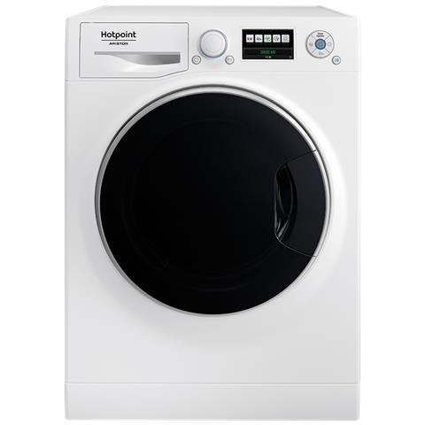 Hotpoint RZ 1047 W EU Lavatrice (Carico frontale 10kg 1400RPM A+++, LCD), Bianco