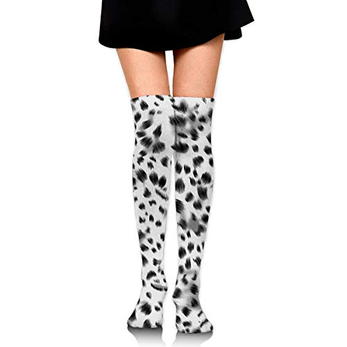 Kotdeqay Knee High Socks Phantom Long Socks Boot Stocking Compression Socks for Women Phantom Nylon Boot