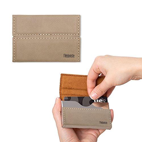 balvi-lhedoniste-mini-cartera-de-polipiel-tarjetero-compacto-para-llevar-tarjetas-de-credito-y-otros
