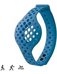 Moov Erwachsene Nowwrbl Ersatzband für Fußgelenke Now Aktivitätstracker, Blau, M