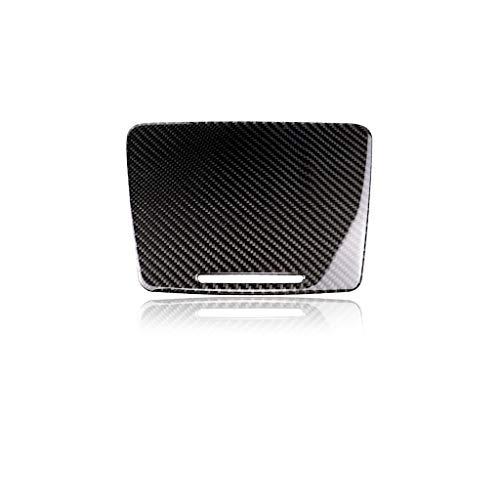 Carbon Fiber CAR Stickers Home Car Center Panel Aufkleber, Carbon Wasser Cup Holder Zentrale Bedienfeld Abdeckleiste für Mercedes-Benz C200 / W205 / C180 / GLC260