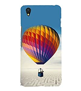 Hot Air Balloon 3D Hard Polycarbonate Designer Back Case Cover for OnePlus X :: One Plus X :: One+X