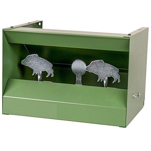 Kugelfangkasten Wildschwein Metall Scheibenkasten Zielscheibe Schießkasten