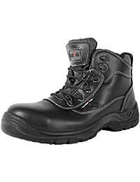 Warrior Workwear 0118mmb41/9Wasserdicht Rigger-Stiefel, Größe 9, Schwarz