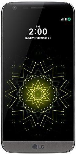"LG G5 - Smartphone libre Android (pantalla 5.3"", 4 GB RAM, 32 GB memoria interna, cámara 16 MP), color titanio"