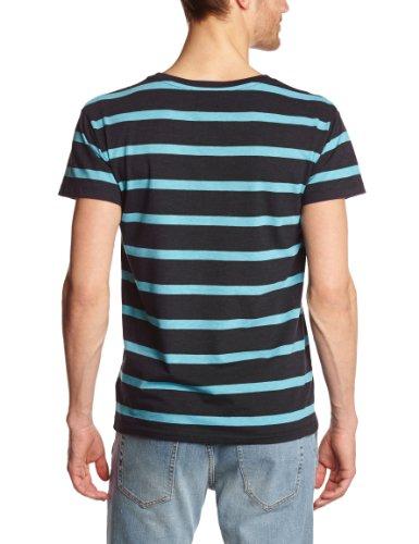 Cheap Monday Herren T-Shirts Blau (Navy/Turquoise)