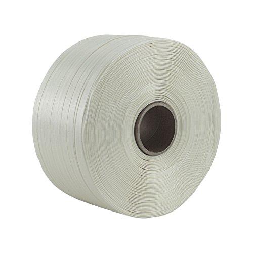 1 Rolle Textil Umreifungsband Breite 16 mm Länge je 850 m Reißfestigkeit 450 KG Kern 76 mm Polyester-textil