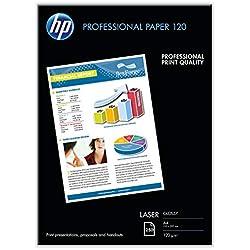 HP - CG964A - Papier brillant laser professionnel 120 gsm - 250 feuilles/A4/210 x 297 mm