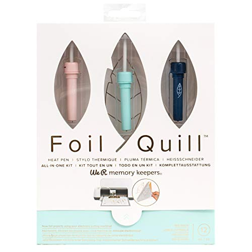We R Memory Keepers Foil Quill Starter Kit, Value Set Includes Over 12 Items.
