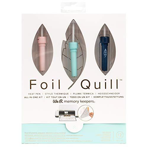 We R Memory Keepers Foil Quill Starter Kit, Vorteilsset enthält über 12 Teile - Arts Crafts Silhouette