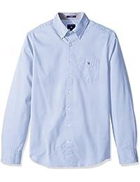 Gant Men's Tech Prep Plain Oxford Reg Ls Bd, Chemises Décontractées Homme