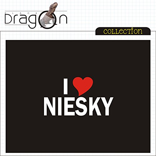 T-Shirt - i Love Niesky - Herren - unisex Schwarz ...
