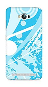 Amez designer printed 3d premium high quality back case cover for Asus Zenfone Max ZC550KL (Abstract 14)