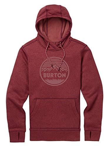 Burton Damen Oak Hoodie, Port Royal Heather, XL -