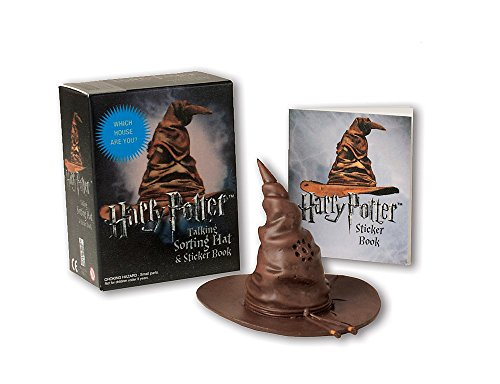 Harry Potter Talking Sorting Hat and Sticker Book: Which House Are You? (Miniature Editions) - Geburtstag Kinder-goldenen