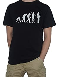 Evolution of Saxophone T-Shirt - Funny Evolution of Man - Sax Saxophonist Music by My Cup Of Tee