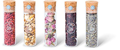 Gin Botanicals Spices Sets Ladies Box